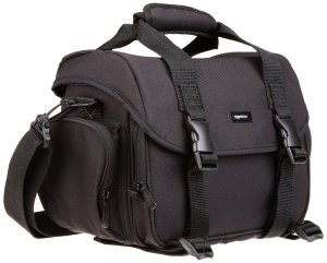 AmazonBasics DSLR Gadget Messenger Bag Large